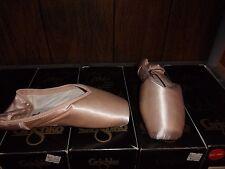 Grishko MAYA satin pointe ballet shoes size 2 & 2.5xxxxm  4xm, 4xxm, 5.5xxxm