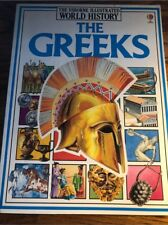 The Greeks (Illustrated World History) by Anne Millard Susan Peach FREE SHIPPING