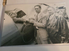 Set 142b - R. Turner, B. Howard & V. Bendix Air Racing 5 x 7 b&w Photograph