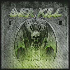 OVERKILL - Patch Aufnäher - White devil armory 10x10cm5