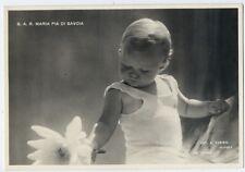 SAVOIA Principessa Maria Pia bambina fiore giardino NAPOLI  perfetta NV