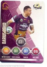 Brisbane Broncos 2016 Rugby League (NRL) Trading Cards