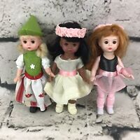 Madame Alexander Dolls Lot Of 3 McDonalds Happy Meal Toys Collectible 2010