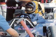 Ronnie Peterson March 761 F1 Portrait 1976 Photograph