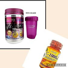 Phyto Collagèn Whitening Glutathione/ Vitamine C Ascorbic Puissant...