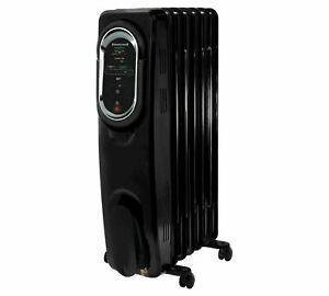 Honeywell Energy Smart Electric Radiator Heater Black Portable Room Heater