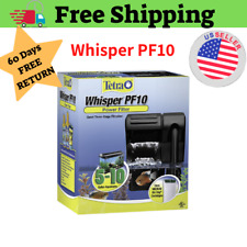 Tetra Whisper Power Filter 10 Gallons Quiet 3 Stage aquarium tank Filtration