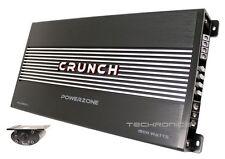 CRUNCH PZA1500.1 POWER ZONE 1500W MONOBLOCK CLASS AB 1 CHANNEL CAR AMPLIFIER