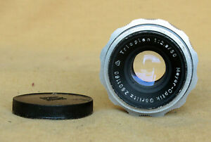 Trioplan 50/2.9 50mm German Meyer lens Exa Exakta manually CLA 12 blades