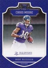 Chris Moore 2016 Panini Football Trading Card, (Rookie) #254