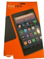 Amazon Kindle Fire HD 8 (6th Generation), Wi-Fi, 8in - Black