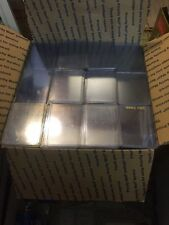 400 Used Top Loaders 3x4 sportscards & non-sports card holder W/CARDS FREE SHIP