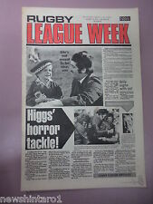 #T110. RUGBY LEAGUE WEEK NEWSPAPER  13/8 1977, PENRITH & EASTERN SUBURBS CENTRE