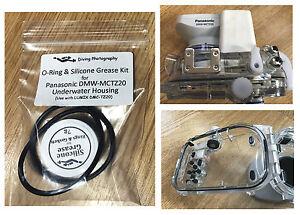 O-ring & Silicone Kit for Panasonic DMW-MCTZ20 MCTZ10 Underwater Housing Case