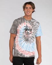 City Beach Stussy World Tour Tie Dye T-Shirt