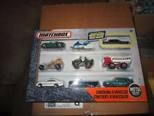 2017 Matchbox 9-Car Gift Pack (With Exclusive CADILLAC FLEETWOOD) '57 FORD THUND