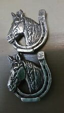 """Lucky Horse with Horshoe Lot of 2 Conchos with Screws 1 1/8"""" Wide"""