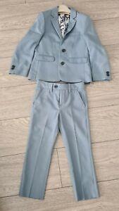 Age 5 Boys Next Duck Egg Blue Suit