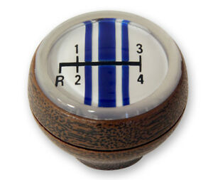 NEW! 1968 - 1969 Ford Mustang 4 Speed Shift Knob Woodgrain Shifter Shelby Style