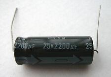 50 x 2200uF  25V ELECTROLYTIC CAPACITORS AXIAL