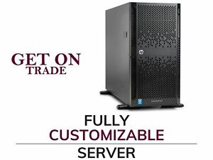 HP ML350 Gen9 8 SFF 2x E5-2690 v4 28 Cores Total - 64GB DDR4 RAM - 1x 240GB SSD