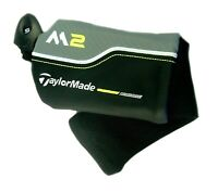 New 2017 TaylorMade M2 Hybrid Rescue OEM Headcover Head Cover Black Grey Lime