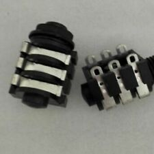 """4pc 1/4"""" TRS Point to Point Solder Audio MIC JACKS,2020"""