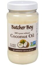 5 Jars of Butcher Boy Coconut Oil 100% Pure Refined Non-Gmo Non-Hydrogenated