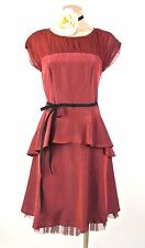 Age of LOVE by Nataya Dress Sale Red Swing Cocktail Formal Vintage style S NWT