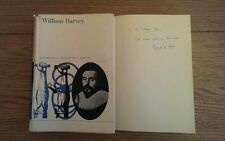 WILLIAM HARVEY THE MAN, THE PHYSICIAN & THE SCIENTIST SIGNED? KENNETH KEELE 1965