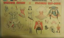 Brenda Starr Sunday with Large Uncut Paper Dolls from 10/19/1941 Full Size Page