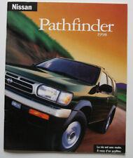 NISSAN PATHFINDER 1998 dealer brochure - French - Canada - ST2003000918