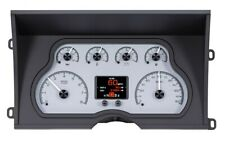 1988-94 Chevy/ GMC Pickup HDX Instruments From Dakota Digital - Silver Face