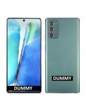 TELEFONO FINTO DUMMY SCHERMO COLORATO REPLICA Samsung Galaxy Note20 5G VERDE