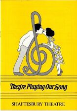 1980 Theatre programme - 'They're Playing Our Song'