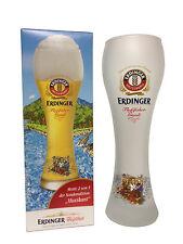 "Erdinger - Bavarian German Beer Glass 0.5 Liter ""Rafting Gaudi - Musician"" - NEW"