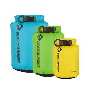 Sea To Summit Lightweight Waterproof Dry Bag Sack Set x 3 sizes