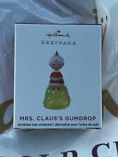 """2020 Hallmark Ornament MRS. CLAUS'S GUMDROP """"LIMITED EDITION"""""""