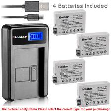 Kastar Battery LCD USB Charger for Canon LP-E8 & Canon EOS 600D Digital SLR