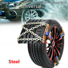 Wheel Tire Ice Snow Anti-skid Chain Car Truck SUV Emergency Winter Universal Kit