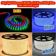 LED Strip 220V 240V  Waterproof 3528 SMD Rope Garden Decking Kitchen Lights