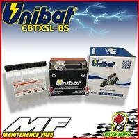 Battery UNIBAT CBTX5L-BS 4AH No Maintenance Suzuki Rg 125 F 1992 - 1995