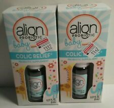 2 Pack Align Baby Probiotic, Colic Relief, 25 Servings, 0.27oz, Exp: 11/21