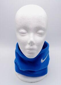 Nike Basic Neck Face Fleece Warmer Battle Blue/White Youth One Size