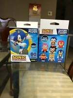 New Set Of 2 Sonic The Hedgehog BIg Head Plush Blind Box Collectible Soft Toys