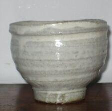 Interessante studio Pottery YUNOMI / teabowl Chun tipo SMALTO EFFETTO sigillo alla base