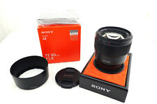 "Sony Sel 85 MM For /1.8 Fe Lens "" Sony Specialist Retailer """