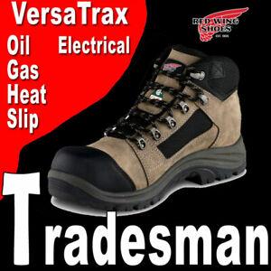 "PREMIUM MEN'S RED WING TRADESMAN 5"" WATERPROOF ELECTRICAL HIKER WORK BOOTS 13"