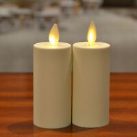 Luminara Dancing Flame LED Votive Tea Lights Candle Flickering Battery Operated