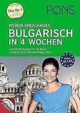 PONS Power-Sprachkurs Bulgarisch in 4 Wochen (2015, Taschenbuch)